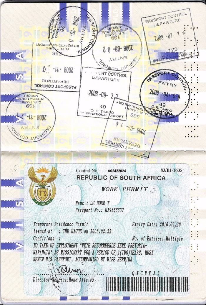 Work Permit 2008