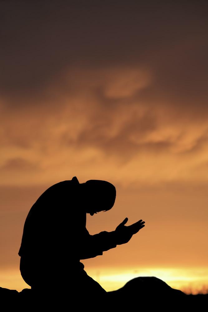 Background Kneeling Lord