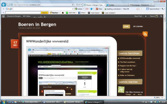 Boereninbergen screenshot